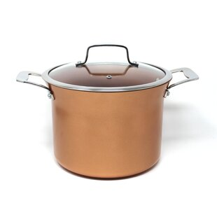 8.5 qt. Non Stick Stock Pot with Lid