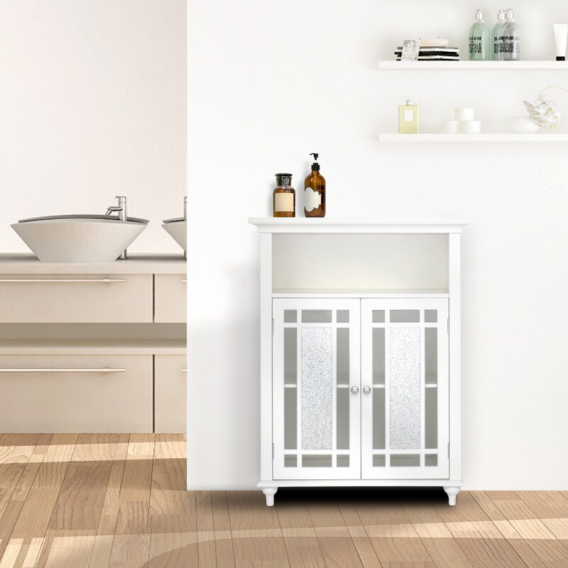 Caleb 2 Door Accent Cabinet by Alcott Hill®
