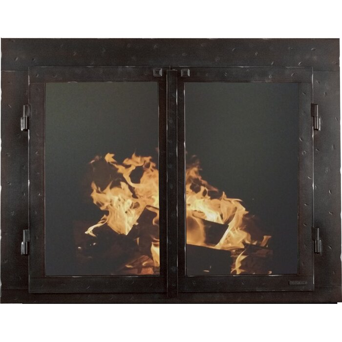 Excellent Mountain Series Cabinet Style Steel Fireplace Door Interior Design Ideas Gresisoteloinfo
