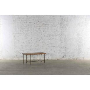 Finnigan Metal and Wood Console Table By 17 Stories