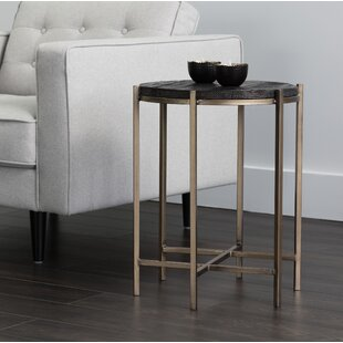 Laclair End Table by Bloomsbury Market
