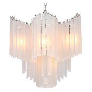 Viz Glass Opus 5-Light Novelty Chandelier