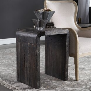 Belgr End Table by Union Rustic