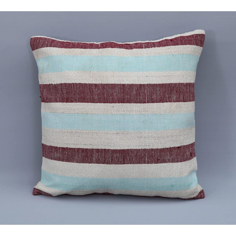 Rosecliff Heights Ariad Square Wool Pillow Cover And Insert Wayfair