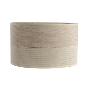 2 Tone Textured 15 Chenille Drum Lamp Shade
