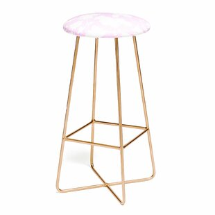 Jacqueline Maldonado Chinoserie Silhouette Blush 25 Bar Stool East Urban Home