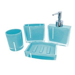 Reef 4-Piece Bathroom Accessory Set