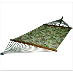 Bay Isle Home Pandan Quilted Floral Tree Hammock