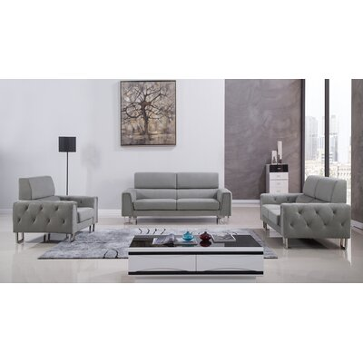 AmericanEagleInternationalTrading Hayden 3 Piece Living Room Set