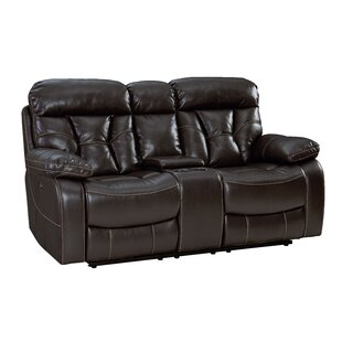 Shop Ellenton Reclining Loveseat with Pillow Top Arms by Red Barrel Studio