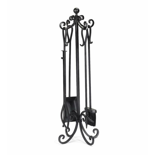 Plow Amp Hearth 5 Piece Steel Fireplace Tool Set Amp Reviews