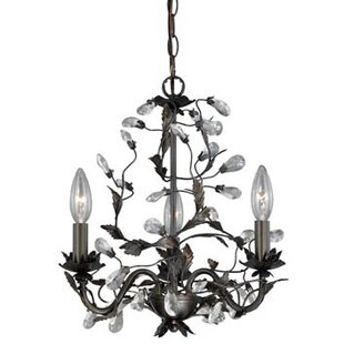 Vaxcel Trellis 3-Light Candle Style Chandelier