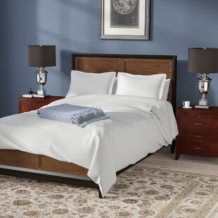 Darby Home Co Amherst 100% Egyptian-Quality Cotton 3 Piece Duvet Set