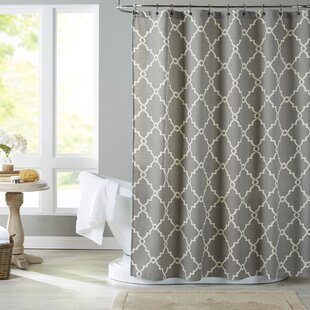 Solid Grey Shower Curtain