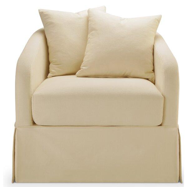 Linen Slipcover Swivel Chair Wayfair