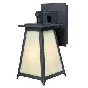 Porras 1-Light Outdoor Wall Lantern