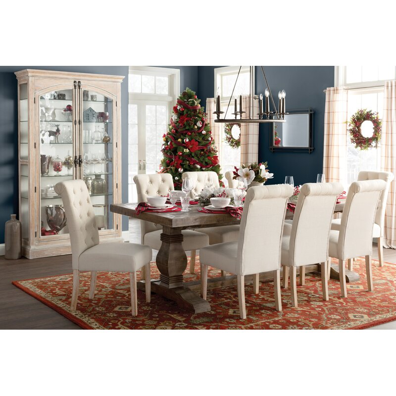 Gertrude Solid Wood Dining Table Amp Reviews Birch Lane