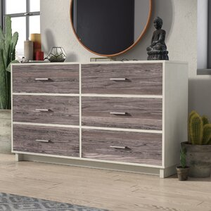 Chicopee 6 Drawer Dresser