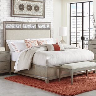 Ophelia & Co. Whicker Upholstered Platform Bed