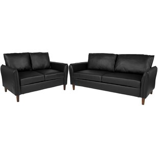 Compare prices Oneill Upholstered 2 Piece Living Room Set by Williston Forge Reviews (2019) & Buyer's Guide