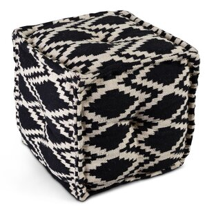 Lareau Diamond Pouf by Union Rustic