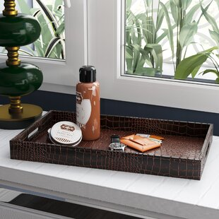 Sofiya Traditional Rectangle Tray