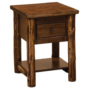 Cedar 1 Drawer Nightstand by Fireside Lodge