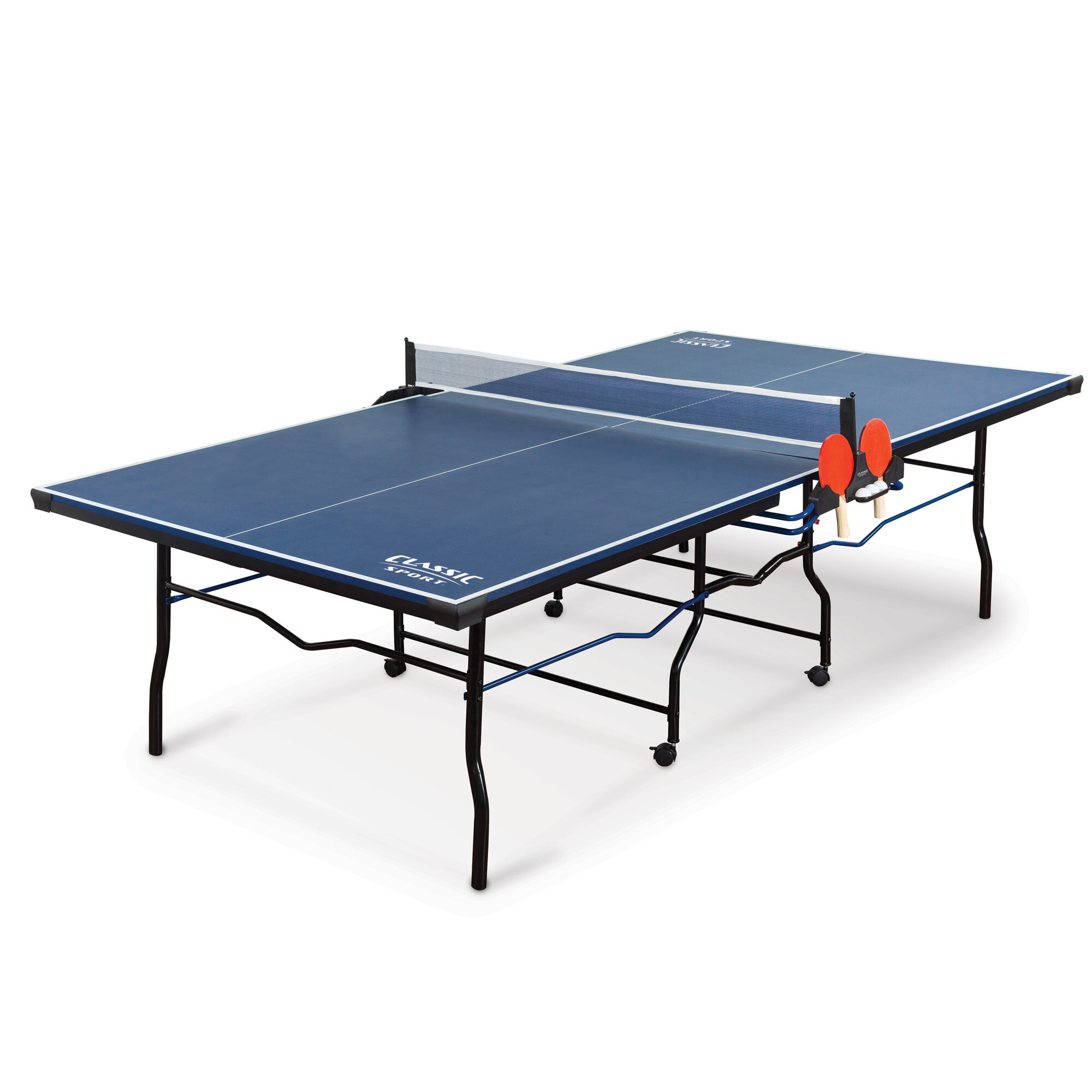 Classic Sport Regulation Size Foldable Indoor Table Tennis Table 18mm Thick Wayfair