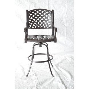 Darby Home Co Nola Patio Bar Stool