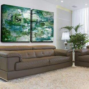 Smash X Oversized 2 Piece Painting Print On Canvas Set