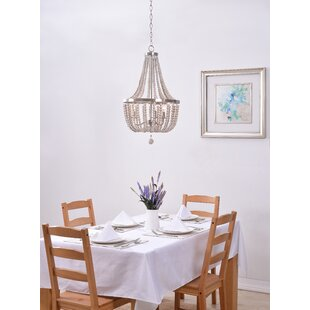 Shop for Janiyah 3-Light Empire Chandelier By Ophelia & Co.
