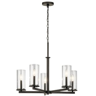 Chelsie 5-Light Shaded Chandelier by Zipcode Design