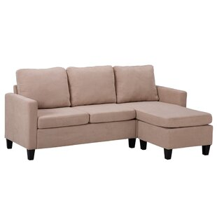 Damie 496 Reversible Sofa  Chaise with Ottoman by Latitude Run