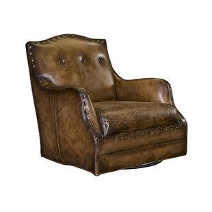 Soho Swivel Armchair by Leathercraft