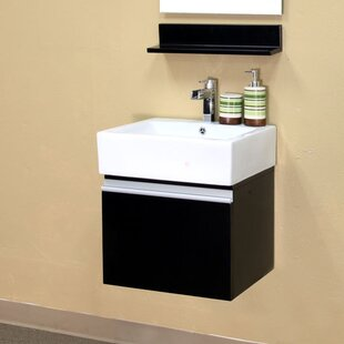 Mason 21 Single Wall-Mounted Bathroom Vanity Set by Bellaterra Home