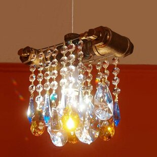 Ceron 1-Light Crystal Pendant by 17 Stories