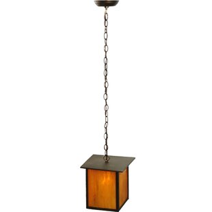 Prime 1-Light Square/Rectangle Pendant by Meyda Tiffany