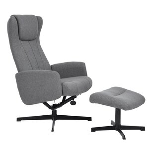 Inexpensive Hollenbeck Manual Recliner with Ottoman by Ebern Designs Reviews (2019) & Buyer's Guide