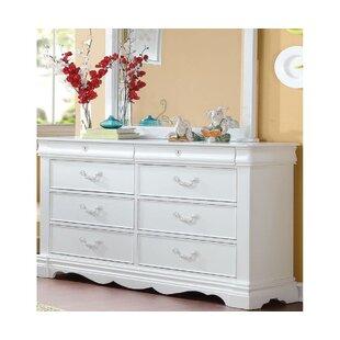 Wiseman 8 Drawer Double Dresser