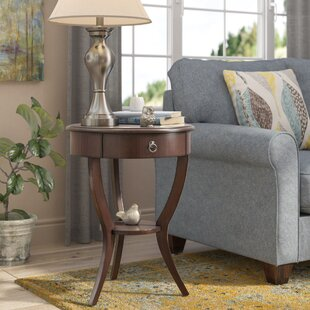 Beekman End Table With Storage Three Posts
