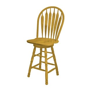 Hensley 30 Swivel Bar Stool Breakwater Bay