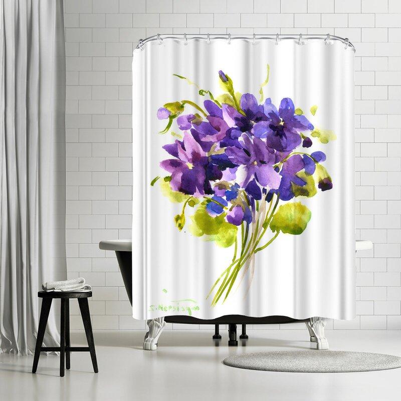 East Urban Home Suren Nersisyan Single Shower Curtain Wayfair