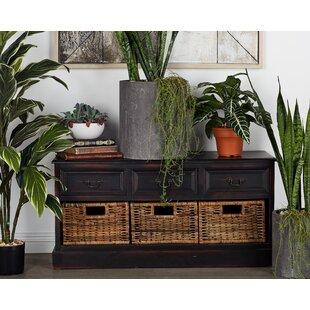 Wood Storage Bench by Cole & Grey