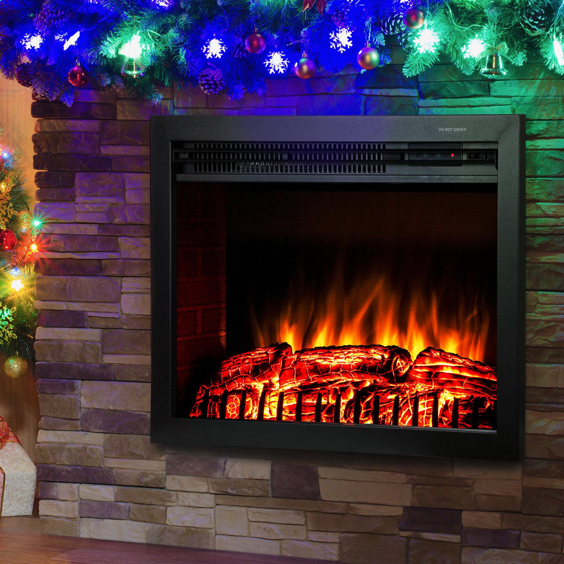 logs uk lights insert fireplace led