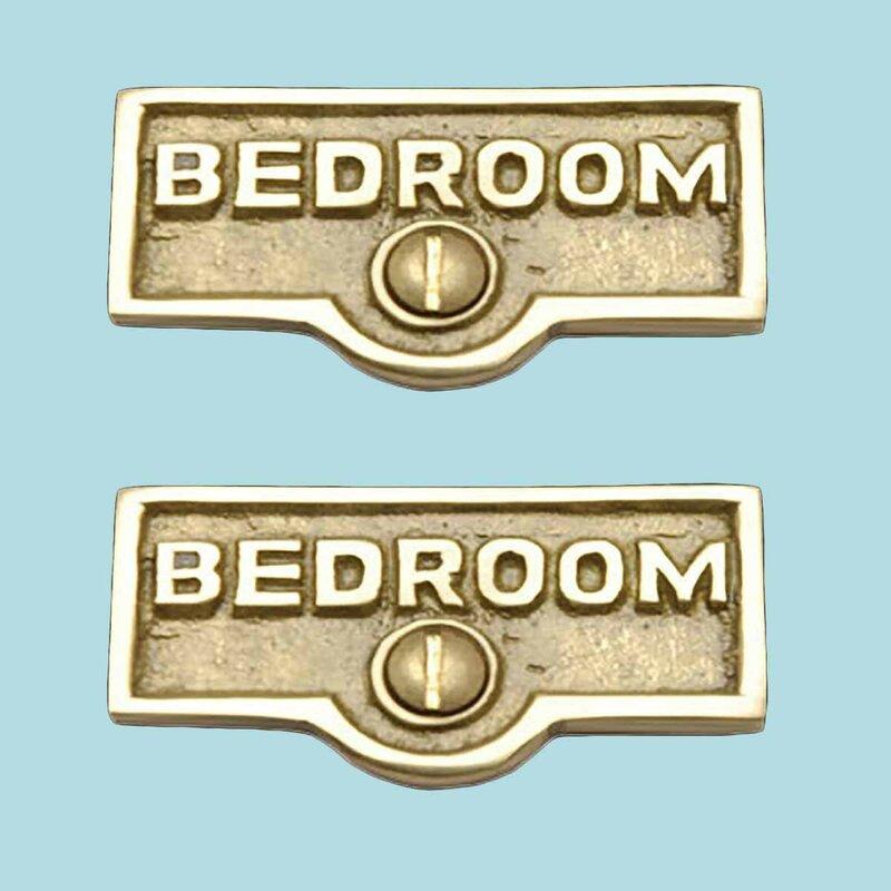 The Renovators Supply Inc Switch Tags Bedroom Name Signs 1 Gang Rocker Wall Plate Wayfair