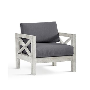 Barden Patio Chair with Sunbrella Cushions by Laurel Foundry Modern Farmhouse