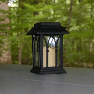 Carrol Solar 2-Light LED Outdoor Hanging Lattern
