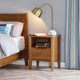 Orono Mid-Century 1 Drawer Nightstand by George Oliver