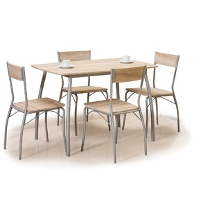 Farrer Dining Set With 4 Chairs (Set Of 4) By Ebern Designs