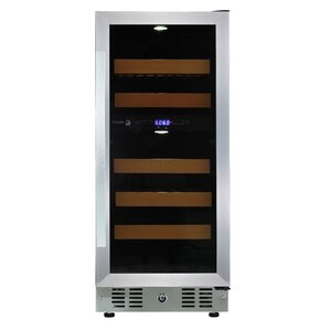 28 Bottle Dual Zone Convertible Wine Cooler by Fagor